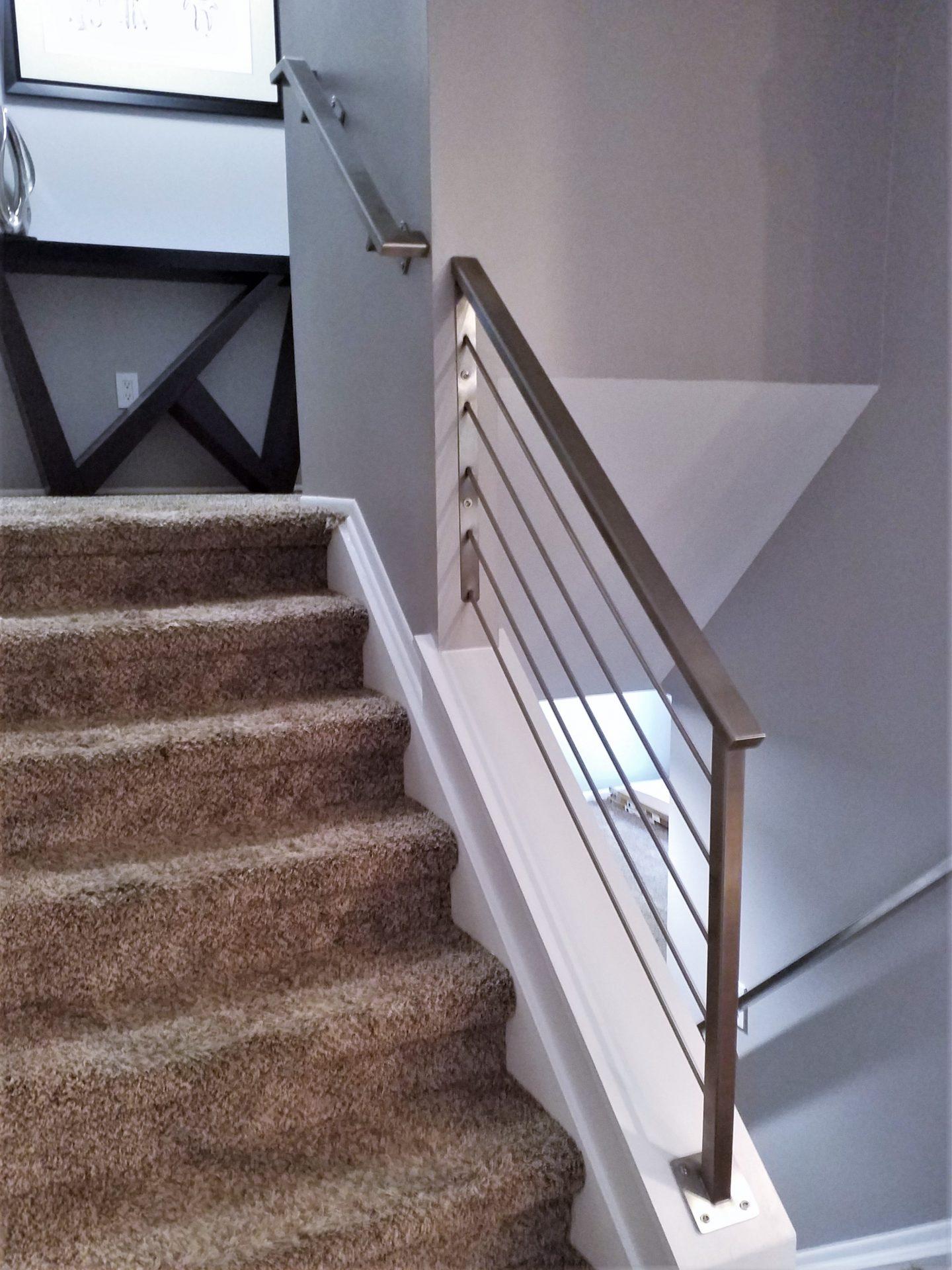 Stainless Steel Handrail Stair Railing - Great Lakes Metal ...