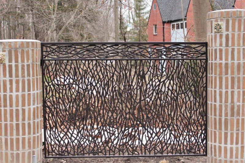 custom wrought iron wavy fencing custom metal railing custom fencing wrought iron privacy fence decorative metal panels