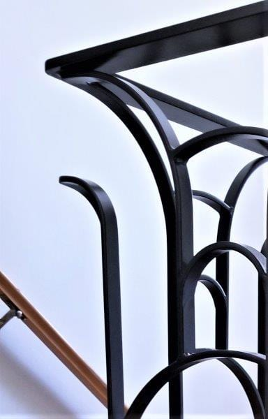 artdeco metal railing modern stair rail interior staircase art deco metal rail oil rubbed bronze wrought iron handrail